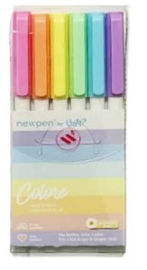 Canetinha Hidrocor C/6 Colore Sortido - Newpen