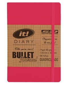Caderno Anotacao 80f Quad It Bullet Journal - Sd