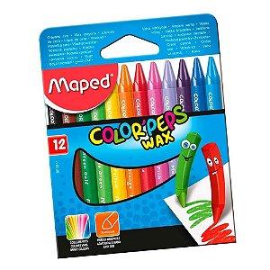 Estojo Giz C/12 Pastel Color Peps - Maped