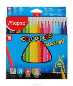 Caneta Hidrografica Color Peps Imagine - Maped