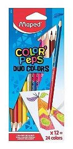 Lapis De Cor Color Peps 2 Cores - Maped
