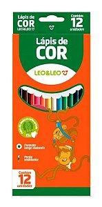 Lapis De Cor C/12 Redondo Madeira - Leo E Leo