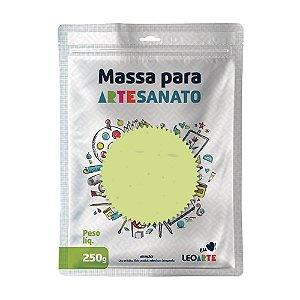 Massa E V A 250g Pastel Verde - Leoarte