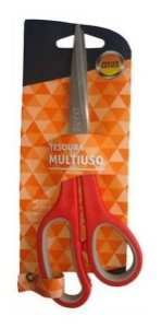 Tesoura Multiuso 21,0cm Inox - Jocar Office