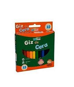 Giz Cera C/12 88mm Fino Sortido - Leo E Leo