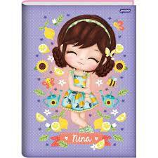 Caderno Broc Cd 1m 96f Nina - Jandaia