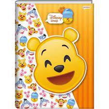 Caderno Broc Cd 1m 96f Disney Emoji - Jandaia