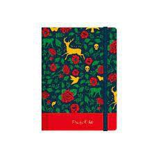 Caderneta Esp 1/8 80f S/p Frida Kahlo - Jandaia