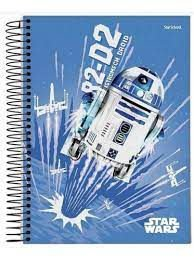 Caderno Esp Univ Cd 10m 200f Star Wars Tr -jandaia