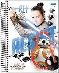 Caderno Esp Univ Cd 01m 96f Star Wars F - Jandaia