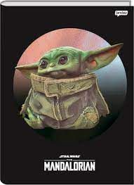 Caderno Broc Cd 1m 96f Stars Wars Yoda - Jandaia