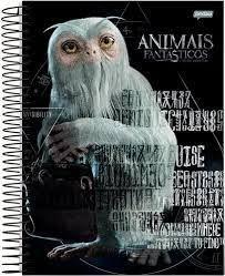 Caderno Esp Cd 1/4 96f Anim Fantasticos - Jandaia