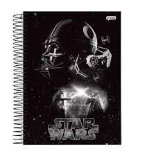 Caderno Esp Univ Cd 15m 300f Star Wars - Jandaia