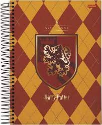 Caderno Esp Univ Cd 15m 300f Harry Potter -jandaia