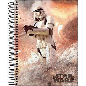 Caderno Esp Univ Cd 15m 240f Star Wars - Jandaia