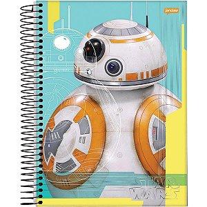 Caderno Esp Univ Cd 12m 240f Star Wars - Jandaia