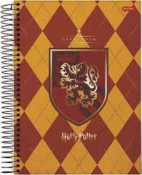 Caderno Esp Univ Cd 20m 400f Harry Potter -jandaia