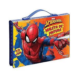 Maleta De Pintura C/72 Itens Spiderman - Molin