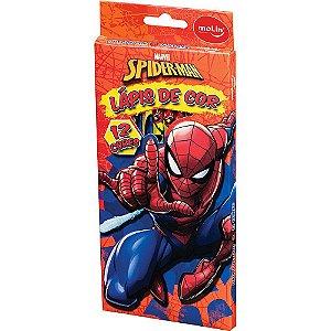 Lapis De Cor C/12 Spiderman - Molin