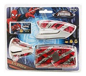 Kit Office Blister C/4 Desk Spiderman - Molin
