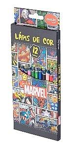 Lapis De Cor C/12 Marvel - Molin