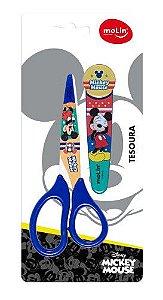 Tesoura 13,5cm C/protetor Mickey - Molin