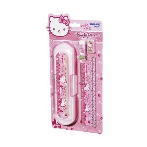 Kit Escolar Blister C/6 Fashion Hello Kitty -molin