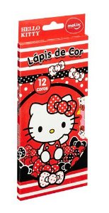 Lapis De Cor C/12 Hello Kitty - Molin