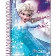 Caderno Esp Univ Cd 15m 300f Frozen - Jandaia