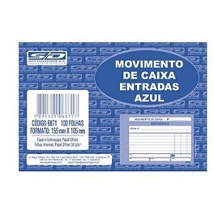 Livro Movimento Caixa 105x155cm 100f Entrada - Sd