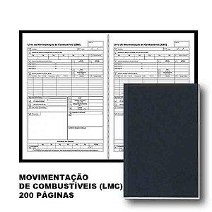 Livro Movimento Combustivel 100f - Sd