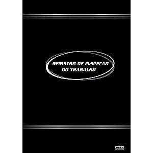 Livro Registro 215x315cm 50f Inspecao Trabalho -sd
