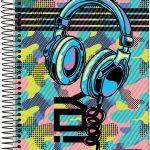 Caderno Esp Univ Cd 10m 200f Hip Hop - Jandaia