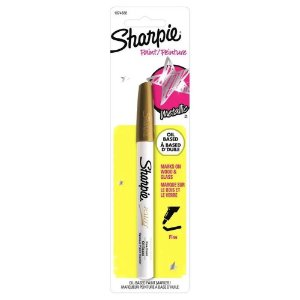 Blister Marcador Perm Paint Oil Fino Ouro -sharpie