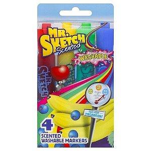 Blister C/4 Marcador Aromatico Mr Sketch - Sharpie