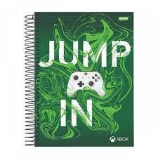 Caderno Esp Univ Cd 10m 160f Xbox  -jandaia