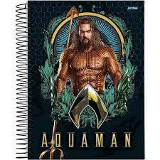 Caderno Esp Univ Cd 01m 96f Aquaman - Jandaia