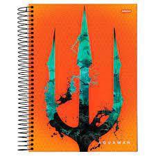 Caderno Esp Univ Cd 15m 300f Aquaman - Jandaia