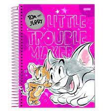 Caderno Esp Univ Cd 12m 240f Tom E Jerry - Jandaia