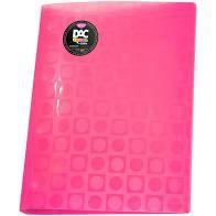 Pasta Catalogo A4 Bubble C/10 Envelope Rosa - Dac