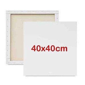 Tela 40x40cm P/pintura - Cortiarte
