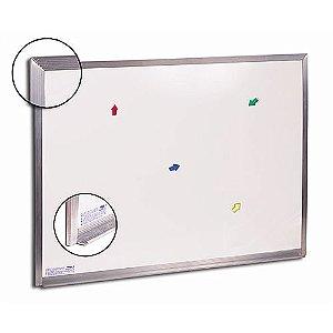 Quadro Branco 100x80cm Magnetico Extra - Cortiarte