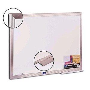Quadro Branco 150x120cm Aluminio Pop - Cortiarte