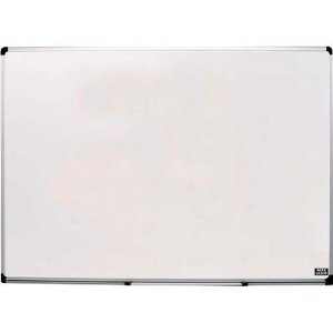 Quadro Branco 200x120cm Aluminio Pop - Cortiarte