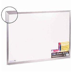 Quadro Branco 80x60cm Aluminio - Cortiarte