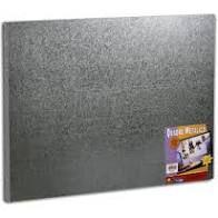 Quadro Metalico Prata Grande - Cortiarte