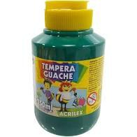 Tempera Guache 250ml Verde Bandeira - Acrilex