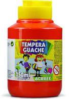 Tempera Guache 250ml Vermelho Fogo - Acrilex