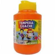 Tempera Guache 250ml Laranja - Acrilex
