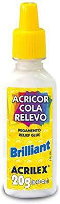 Cola Crystal N/19 Relevo Brilhante - Acrilex